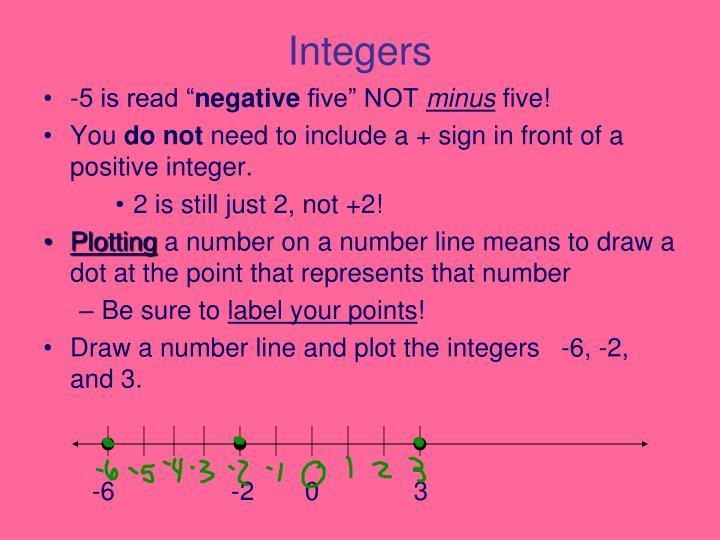Integers1