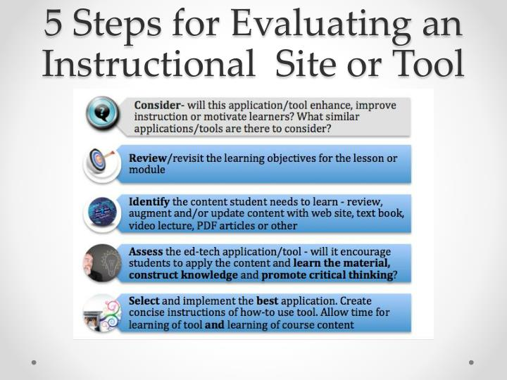 5 Steps for Evaluating an