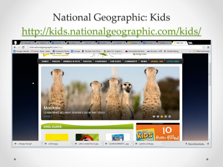 National Geographic: Kids
