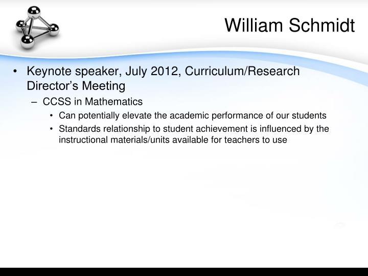 William Schmidt