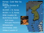 korea cold war by proxy