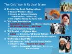 the cold war radical islam