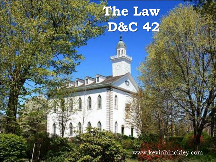 The law d c 42