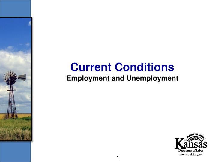 Current conditions employment and unemployment