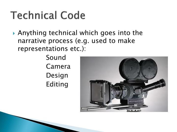 Technical code