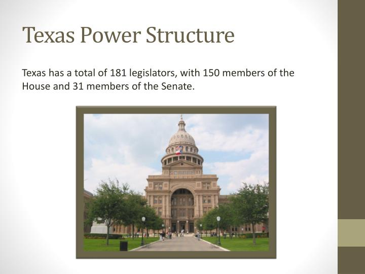 Texas power structure