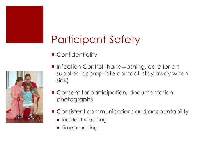 Participant Safety