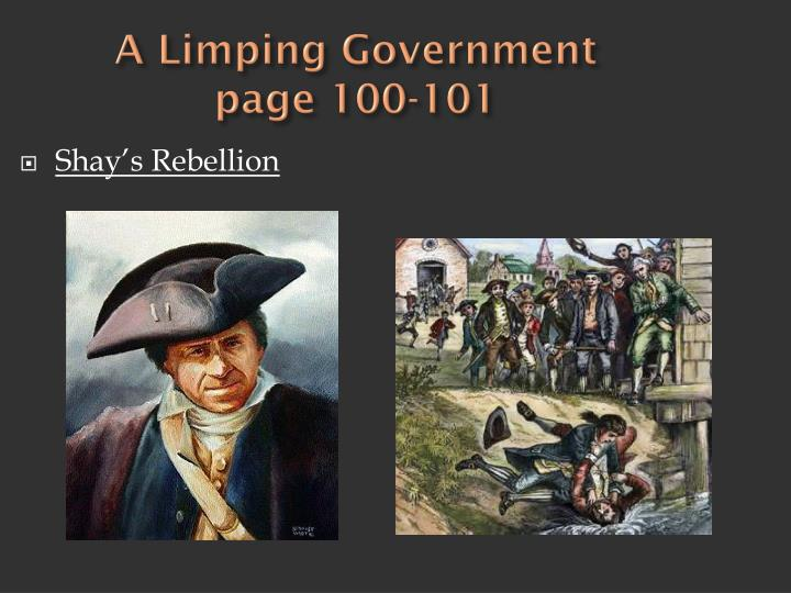 A Limping Government