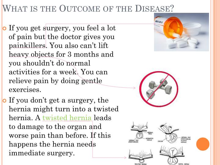 What is the Outcome of the Disease?