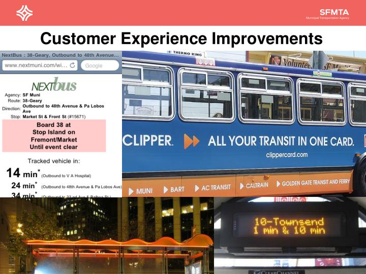 Customer Experience Improvements