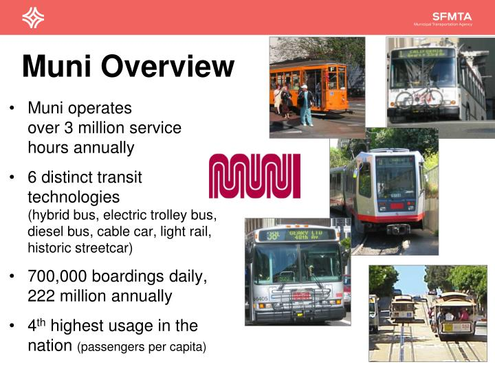 Muni overview
