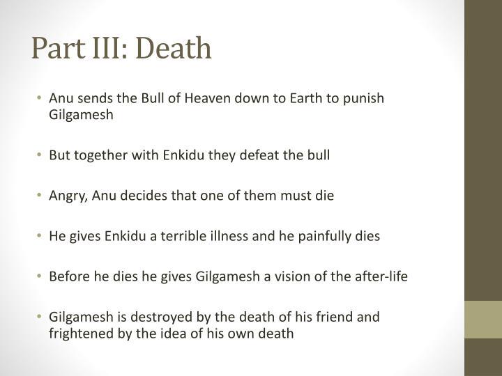 Part III: Death