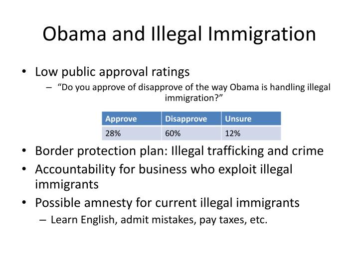 Obama and Illegal Immigration