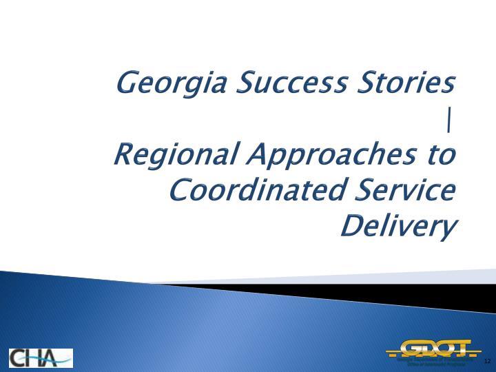 Georgia Success Stories