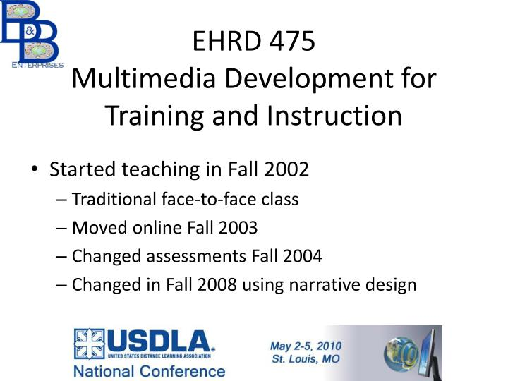 EHRD 475