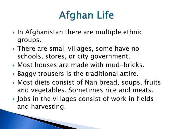 Afghan Life