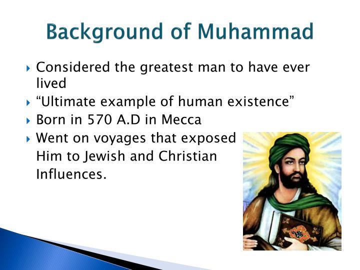 Background of Muhammad