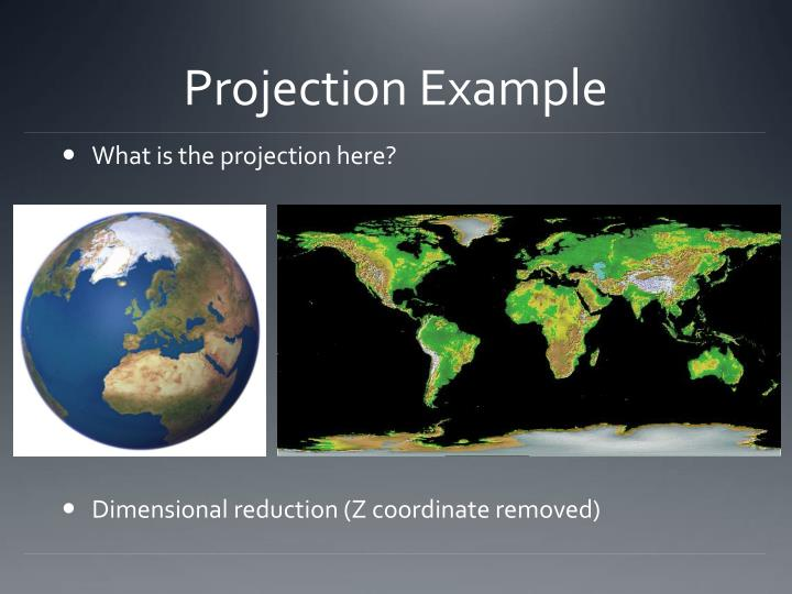Projection Example