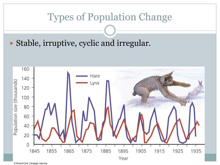 Types of Population Change