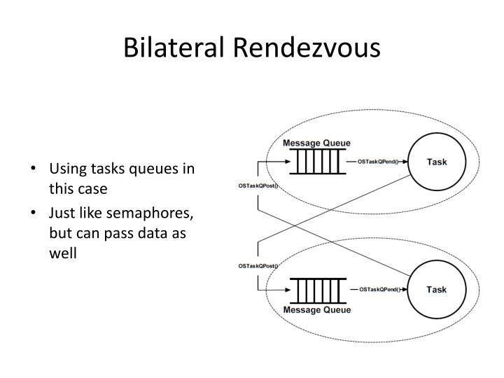 Bilateral rendezvous