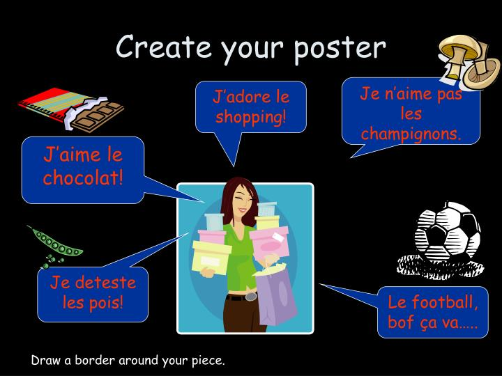 Create your poster