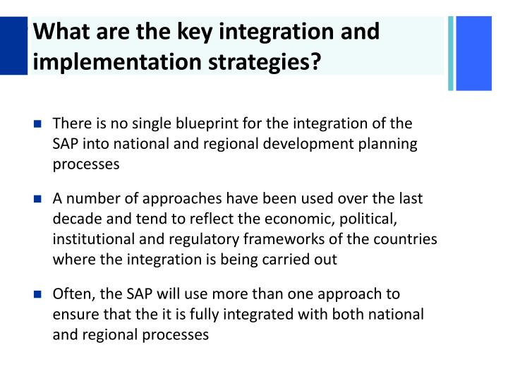 What are the key integration and implementation strategies