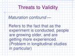 threats to validity1
