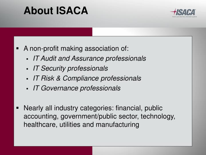 About isaca