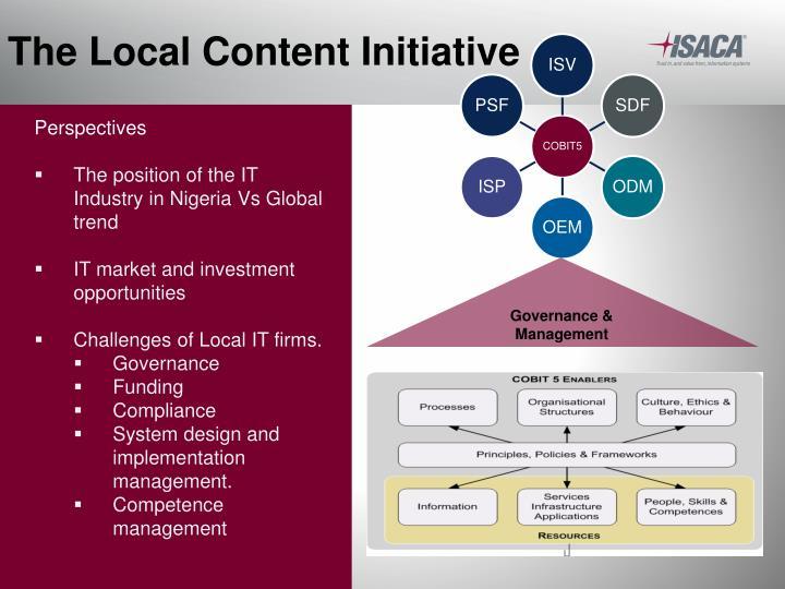 The Local Content Initiative