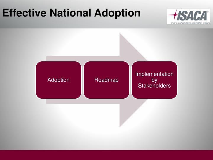Effective National Adoption
