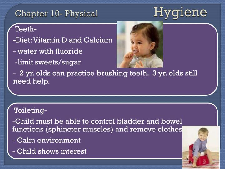 Chapter 10 physical hygiene