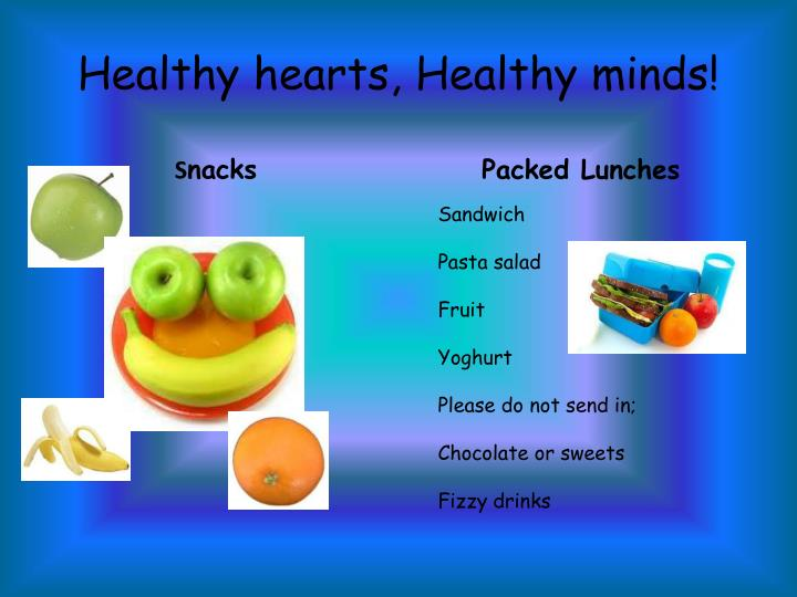 Healthy hearts, Healthy minds!