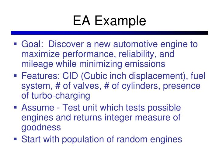 EA Example