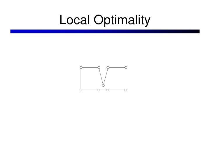 Local Optimality