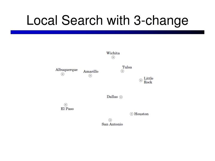 Local Search with 3-change