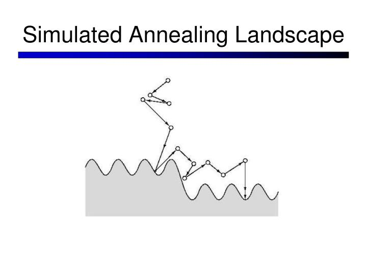 Simulated Annealing Landscape