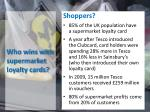 who wins with supermarket loyalty cards
