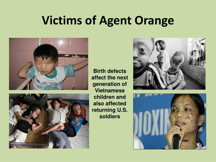 Victims of Agent Orange