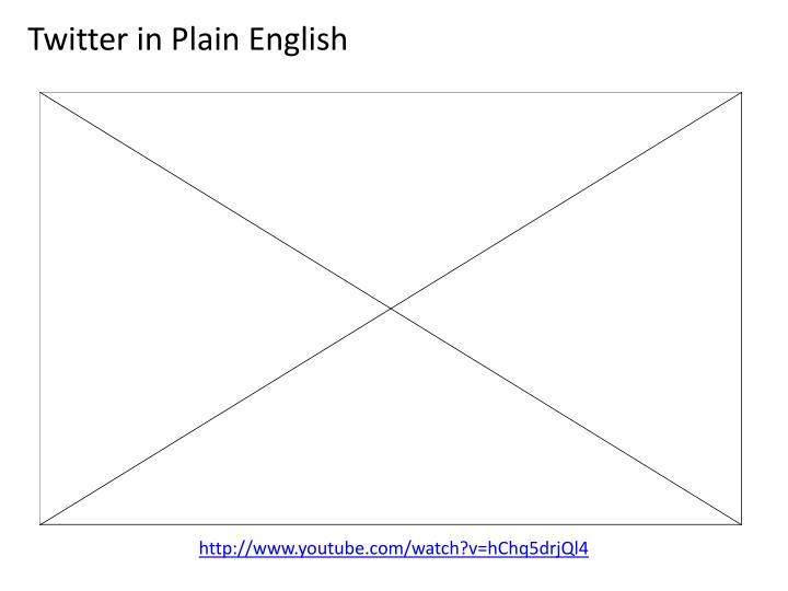 Twitter in Plain English