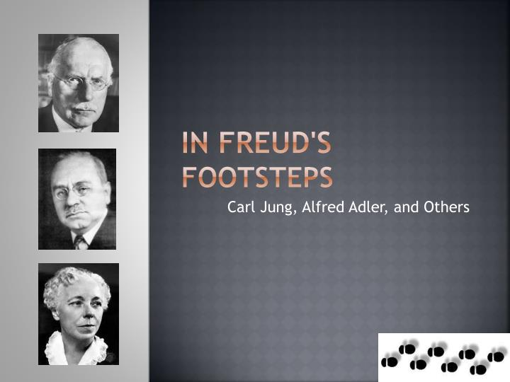 comparing the ideologies of carl jung alfred adler and sigmund freud