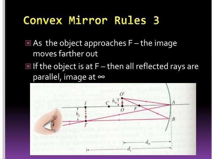Convex Mirror Rules 3