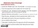defensive zone coverage