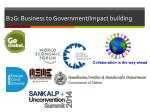 b2g business to government impact building