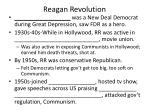 reagan revolution