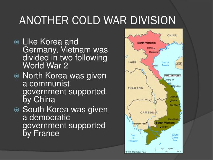 Another cold war division