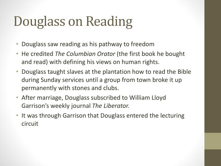 Douglass on Reading