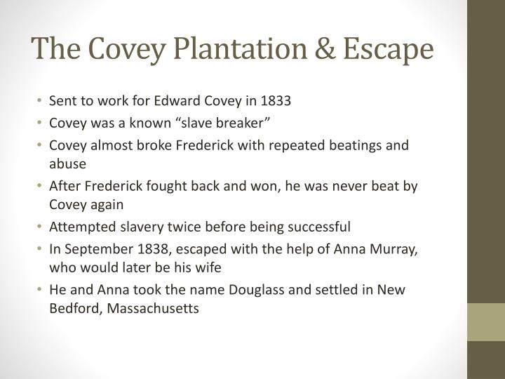 The Covey Plantation & Escape