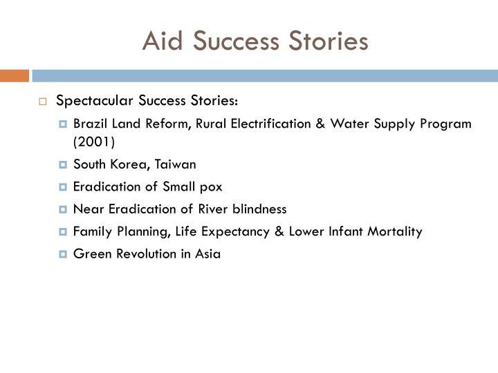 Aid Success