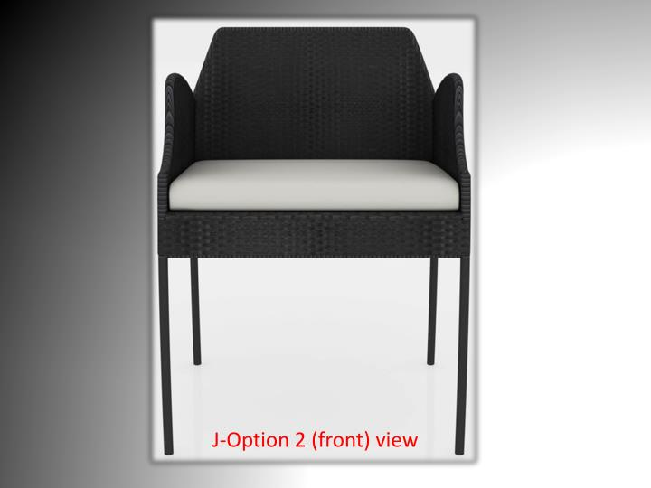 J-Option 2 (front) view