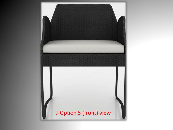 J-Option 5 (front) view